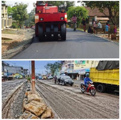 Jalan Kubangan Kerbau Di Tanbu Disulap Jadi Mulus Di Era Mhm Rilis Kalimantan